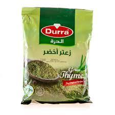 Durra- Za'atar (zelený) زعتر