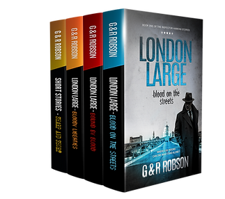 London Large boxset -bloody crime from the streets of london