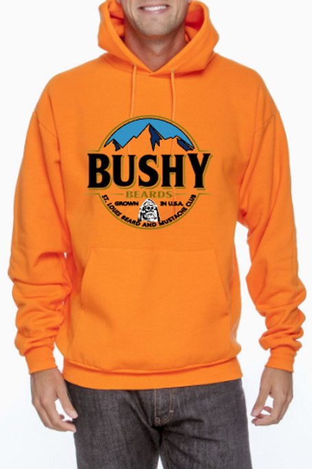 Bushy Beard Hoodie - LIMITED EDITION!