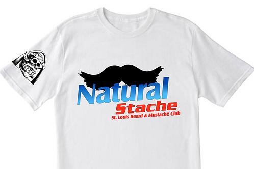 Natural Stache T-Shirt