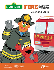 sesame street color an learn
