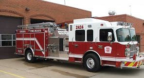 fire truck pumper 2424