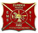 Eureka Fire Protection District logo, link to home page logo,