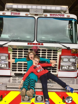 Firehouse tours are fun!