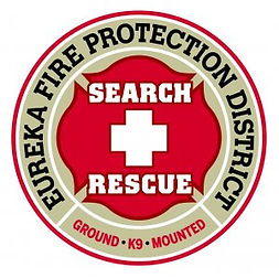 Eureka Fire Protection District Search and Rescue logo
