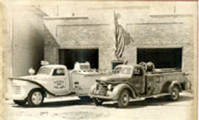 Historical picture of fire department