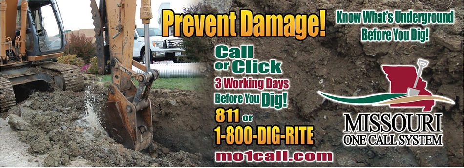 mo 1 Call | Reminding residents to call before you dig