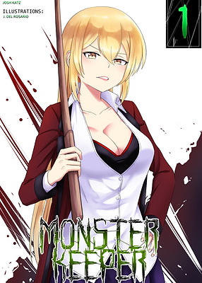 "Yuzuki Shuzuka ""Monster Keeper"" by Josh Katz"