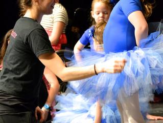 A Hands-On Approach In Dance Class