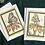 Thumbnail: Pair of Pollinators Greeting Cards