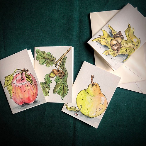 Autumn Harvest notecards