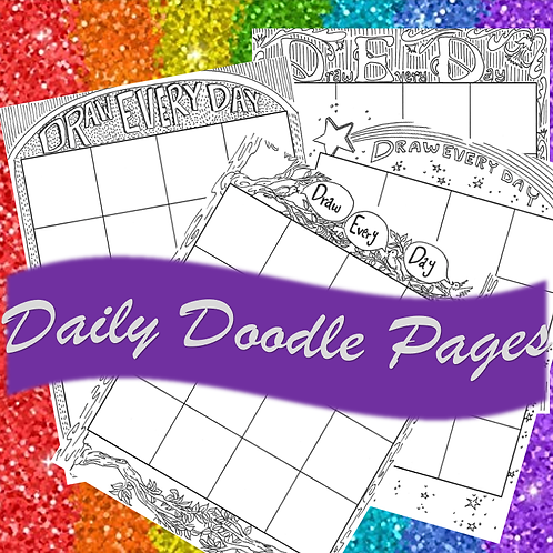 Draw Every Day Pages