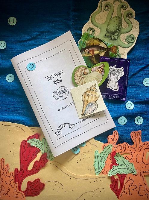 Mermaid Mail: Color-Me Zine!