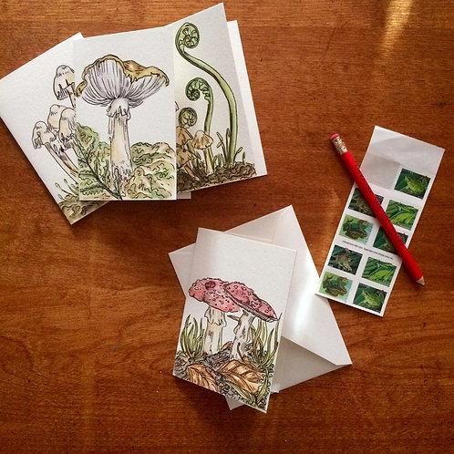 Fab Fungi Greeting Card Set