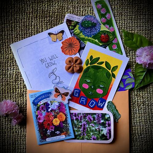 Spring Garden Snail Mail