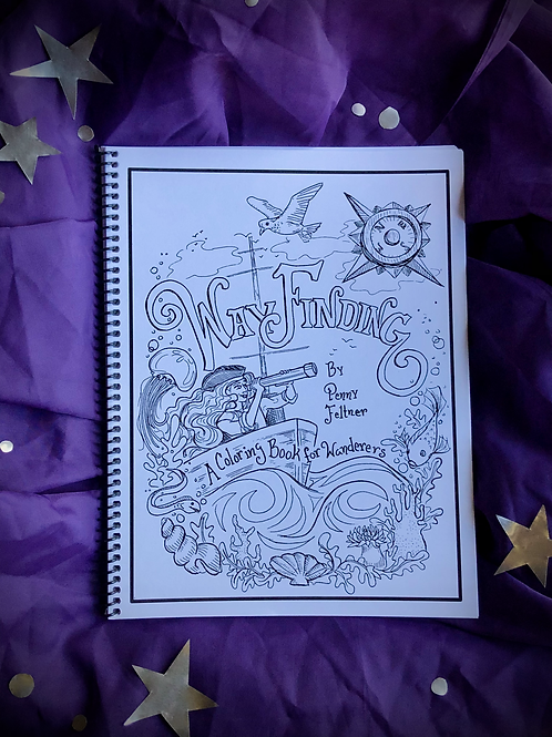 Wayfinding: A Coloring Book for Wanderers