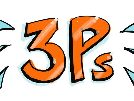The 3 P's - How to deal with stress, anxiety & related symptoms