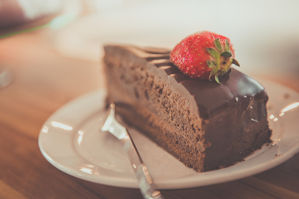 Emotional eating - cake