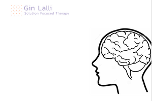 A drawing showing the human brain – solution focused therapy part 1 - the breakthrough session