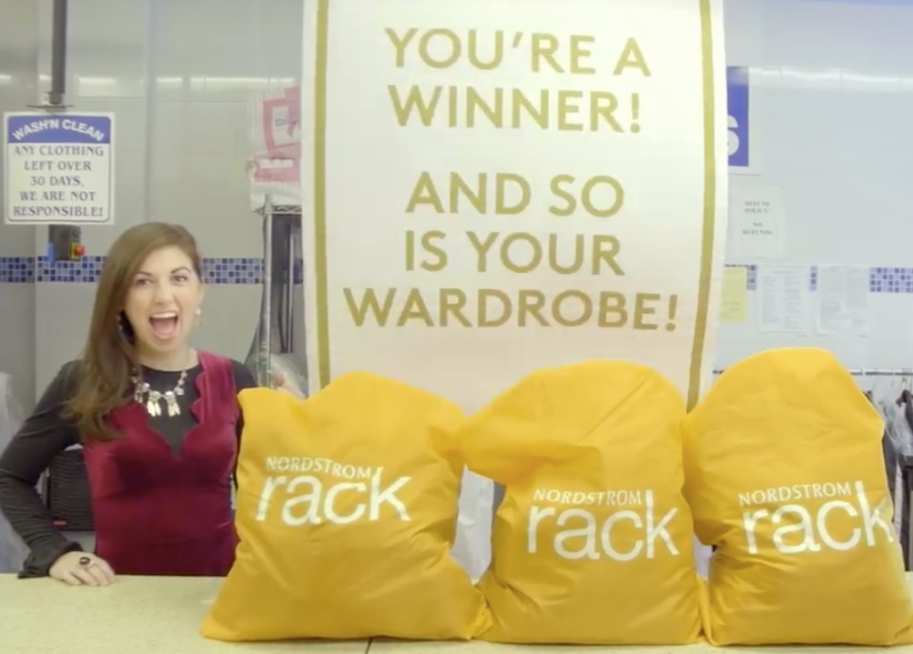 On Set with Nordstrom Rack