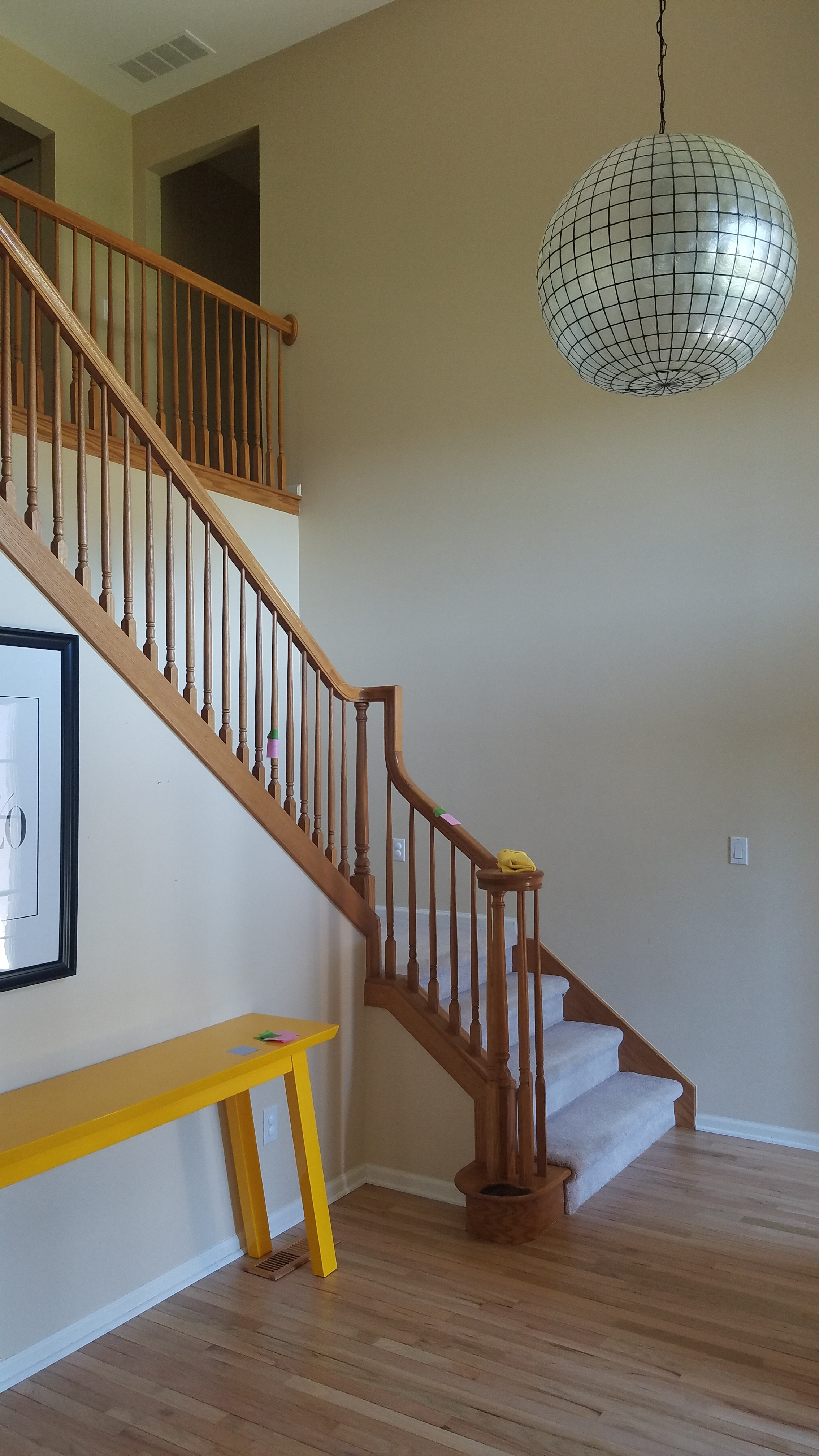 interior handrail before 2