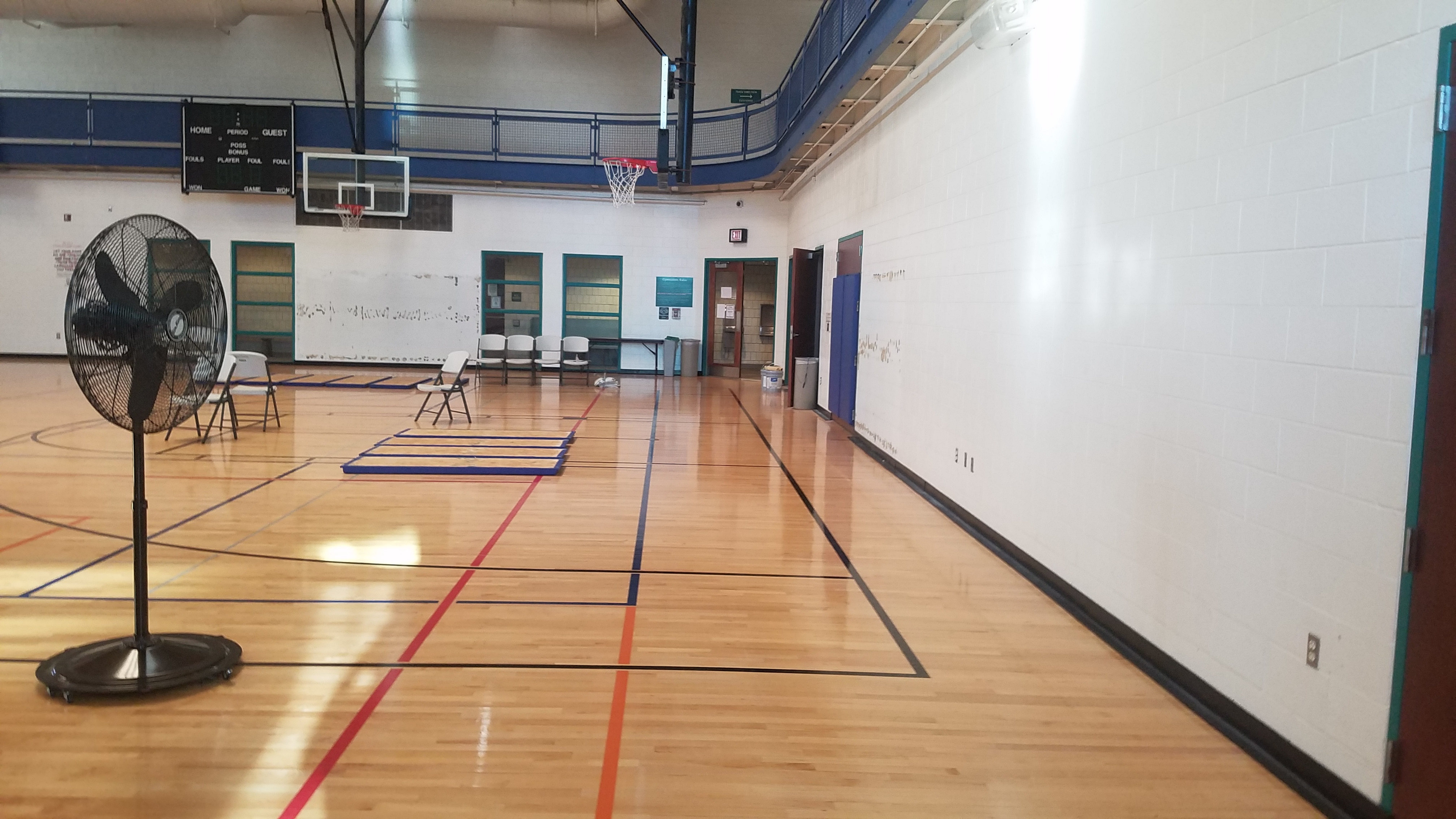 gym before