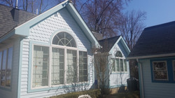 exterior lakehouse before