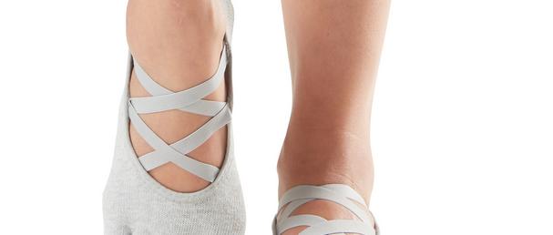 Yoga nedrseče nogavice na prstke