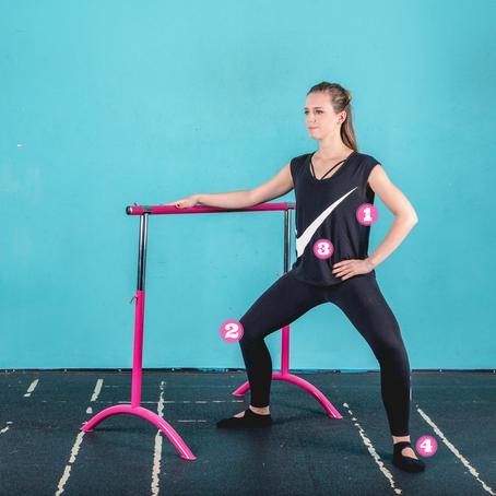 Plié squat / Plié počep / Sumo počep - kako pravilno izvesti vajo?
