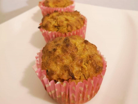 Sladica brez dodanega sladkorja - korenčkovi muffini