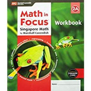 Math in Focus: Singapore Math - Workbook 2A