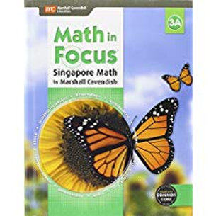 Math in Focus: Singapore Math - Student Edition 3A