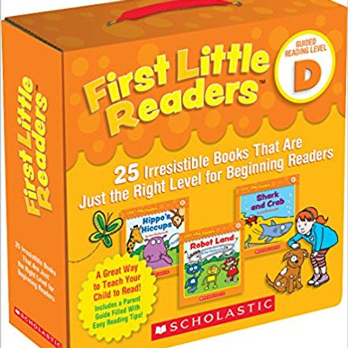 First Little Readers Parent Pack - Guided Reading Level D with CD