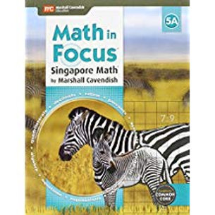 Math in Focus: Singapore Math - Student Edition 5A