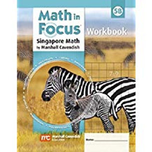 Math in Focus: Singapore Math - Workbook 5B