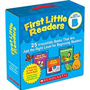 First Little Readers Parent Pack - Guided Reading Level B