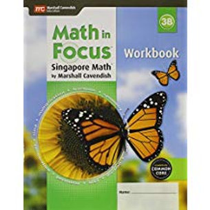 Math in Focus: Singapore Math - Workbook 3B