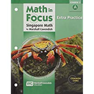 Math in Focus: Singapore Math - Extra Practice Workbook 2A