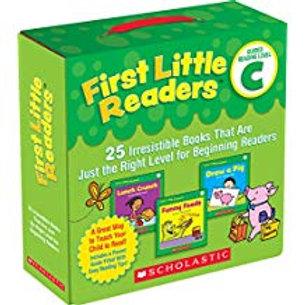 First Little Readers Parent Pack - Guided Reading Level C