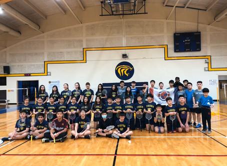 HCAS Badminton at TAS