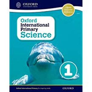 Oxford International Primary Science - Stage 1: Age 5-6 Student Workbook 1