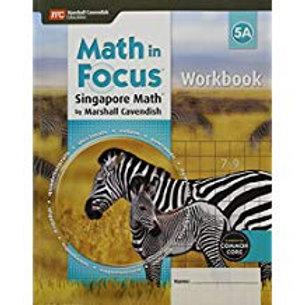 Math in Focus: Singapore Math - Workbook 5A