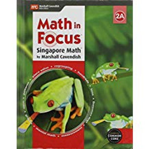 Math in Focus: Singapore Math - Student Edition 2A