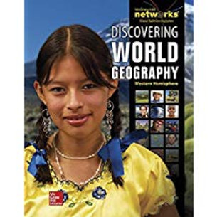 Discovering World Geography: Western Hemisphere - Student Edition