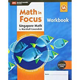 Math in Focus: Singapore Math - Workbook 1A