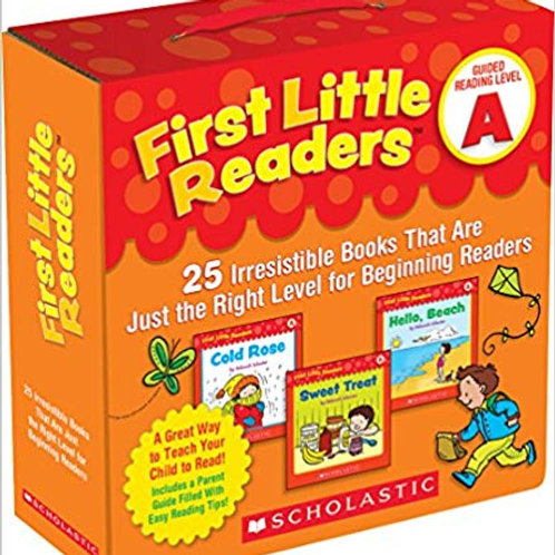 First Little Readers Parent Pack - Guided Reading Level A