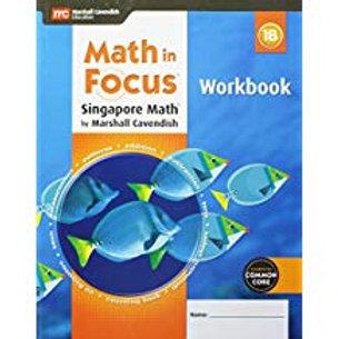 Math in Focus: Singapore Math - Workbook 1B