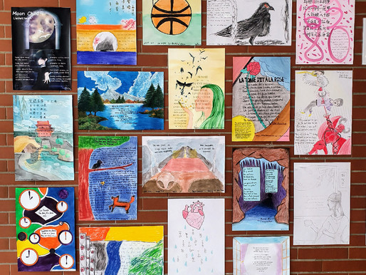 First Annual HCAS Art Competition for World Poetry Day