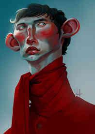Praticando estilização e pintura  Allan