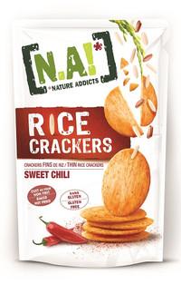 Rice Cracker al Chili Dolce - Gluten Free, Al forno